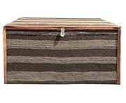 Sale 9040H - Lot 71 - An Antique Persian Mafrash Ottoman (With Natural Kilim Lining)