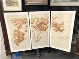 Sale 9139 - Lot 2004 - PETER HICKEY Angophora etching and aquatint ed. 28/35 113 x 61cm, signed