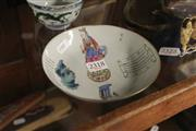 Sale 8311 - Lot 36 - Chinese Fine Painted Dish Marked to Base
