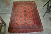 Sale 8105 - Lot 1066 - Afghan Hand Knotted Woollen Rug (160 x 100)