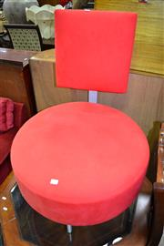 Sale 8115 - Lot 1124 - Modern Chair In Red