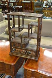 Sale 8138 - Lot 913 - Chinese Tiered Display Cabinet