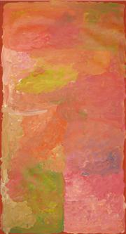 Sale 8259 - Lot 570 - Kudditji Kngwarreye (c.1928 - ) - My Country 160 x 91cm