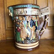 Sale 8795K - Lot 92 - A Royal Doulton Dickens jug signed CJ Noke