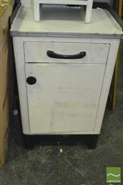 Sale 8380 - Lot 1090 - Metal Single Drawer Cabinet