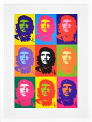 Sale 8394A - Lot 5020 - Andy Warhol (1928 - 1987) After. - Che Guevara 90 x 60cm (frame size: 117 x 88cm)
