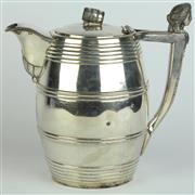 Sale 8419 - Lot 131 - Meriden Britannia Company Silver Plated Beer Pitcher