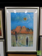 Sale 8407T - Lot 2008 - David Benson (XX - ) - A Beautiful Day 84.5 x 54.5cm (frame size: 113 x 81.5cm)
