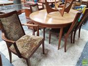 Sale 8451 - Lot 1069 - G-Plan teak table and set of 6 chairs