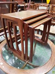 Sale 8566 - Lot 1111 - Unusual Miniature G-Plan Nest of Tables