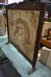 Sale 8115 - Lot 1453 - Tapestry Fire Screen