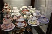 Sale 8330T - Lot 182 - Royal Albert Trios incl Old Country Roses with Others