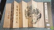 Sale 8419 - Lot 193 - Signed Chinese Painting Album of Mountains & Rivers