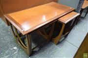 Sale 8550 - Lot 1039 - G-Plan Teak Nest of Tables
