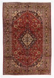 Sale 8770C - Lot 49 - A Persian Kashan From Isfahan Region 100% Wool Pile On Cotton Foundation, 340 x 225cm