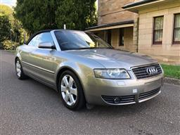Sale 9157V - Lot 3 - 2003 Audi A4 Convertible