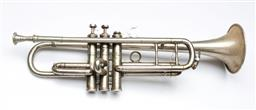 Sale 9164 - Lot 62 - A Bessons & Co cased trumpet