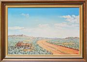 Sale 8068A - Lot 3 - John Dynon (1954 -) - End of The Road Pine View 50 x 75.5cm