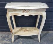 Sale 8979 - Lot 1053 - French Style Hall Table (H:74 W:66 D:36cm)