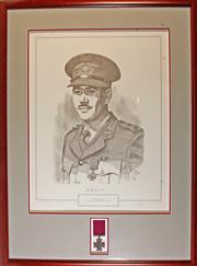Sale 7978 - Lot 99 - Sir Roden Cutler V.C. Framed Limited Edition Print