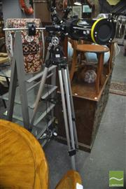 Sale 8326 - Lot 1464 - Telescope on Stand - Marked National Geographic
