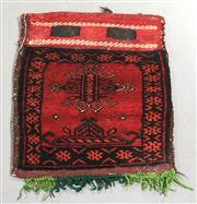 Sale 8438K - Lot 139 - Afghan Tribal Donkey Bag | 41x35cm, Pure Wool,  Hand-knotted by desert nomads in the northern mountainous regions of Afghanistan. Al...