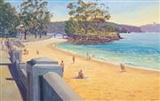 Sale 8475 - Lot 524 - Mike Braden (1961 - ) - Balmoral Beach 106 x 166.5cm