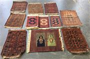 Sale 8740 - Lot 1136 - Large Collection of Small Rugs and Carpets (various sizes)