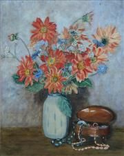 Sale 8884A - Lot 5075 - Marjorie Trenwith (1903 - 2000) - Mixed Bunch 47 x 38 cm