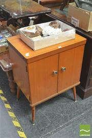 Sale 8406 - Lot 1070 - 1970s Singer  Sewing Machine Cabinet