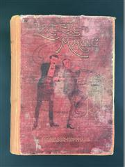 Sale 8539M - Lot 22 - Professor Hoffmann (Angelo Lewis), 'Later Magic'. London: Routledge. First Edition (c. 1904). Re-bound in orange cloth with original.