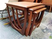 Sale 8585 - Lot 1054 - G-Plan Teak Nest of Tables