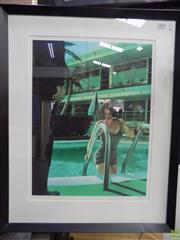 Sale 8561 - Lot 2026 - Richie Fahey - Untitled 75 x 58cm (frame size)
