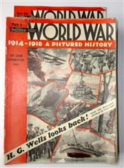 Sale 8639 - Lot 53 - World War 1914-1918, A Pictured History edited by John Hammerton, in 55 parts/ magazines.