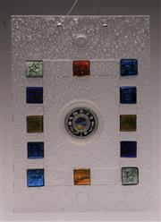 Sale 9044 - Lot 84 - Perth Mint Proof 10oz Silver Coin and Enlightenment Glass Art Work c2001