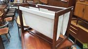 Sale 8383 - Lot 1048 - Rosewood Magazine Rack