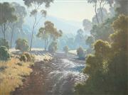 Sale 8467 - Lot 513 - Michael McCarthy (1940 - ) - The Morning Break, Snowy Creek, 1985 75 x 100cm