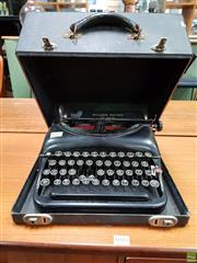 Sale 8585 - Lot 1019 - Early Remington Typewriter in Case