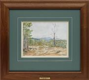 Sale 8753 - Lot 2035 - William Torrance (1912 - 1988) - Wongabel Quarry, 1945 23.5 x 31.5cm