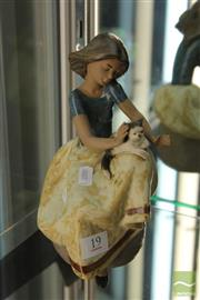 Sale 8226 - Lot 19 - Lladro Figure of a Girl