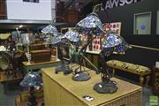 Sale 8326 - Lot 1623 - Collection of 5 Leadlight Lamps