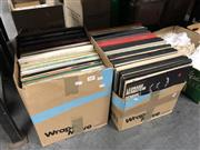 Sale 8797 - Lot 2436 - 2 Boxes of Classical Records incl Pavarotti