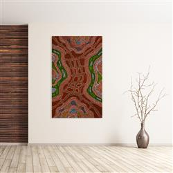 Sale 9092A - Lot 5007 - Nerida Giles - Minyma Tjuta 158 x 97 cm (stretched and ready to hang)