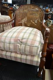 Sale 8115 - Lot 1291 - Armchair With Rattan Back