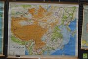 Sale 8275 - Lot 1031 - Philips Vintage School Map of China