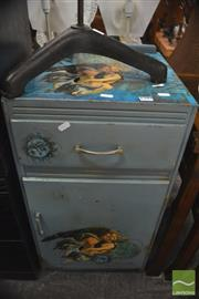 Sale 8338 - Lot 1599 - Painted Bedside Cabinet