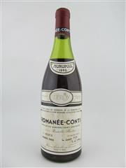 Sale 8397 - Lot 504 - 1x 1985 Domaine de la Romanee-Conti, Romanee-Conti - level at 5cm below cork