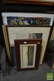 Sale 8471 - Lot 2041 - Collection of (6) Decorative Prints Including Ken Done Sydney, framed, various sizes