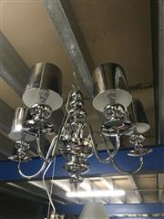 Sale 8797 - Lot 2206 - 5 Branch Hanging Light Fitting