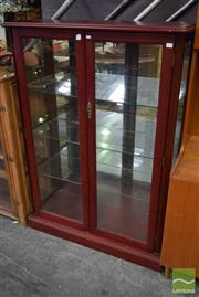 Sale 8532 - Lot 1134 - Glass Front Display Cabinet